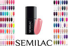 Semilac Nail Gel Polish 7 ml Hybrid Manicure All Colours Soak off