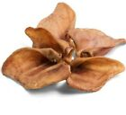 PIGS EARS - (x5 - x50) - Hollings Dog Food Pig Ear Treats bp Pork Pet Feed Chew