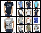 New Hollister by Abercrombie A&F Men Graphic T-shirt Muscle Fit Size S M L XL
