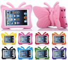 3D Cute Butterfly Shockproof Foam Stand Cover Case for iPad 2 3 4 Air Mini Pro