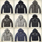 Hollister by Abercrombie Mens Zip Hoodie Sweater Jacket Top All Colours BNWT