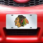 NHL LICENSE PLATE - INLAID ACRYLIC- CHOOSE YOUR FAVORITE TEAM!
