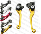 Stock CNC Dirt Bike Pivot Brake Clutch Levers For SUZUKI RMX250S 1996-2012 08 09