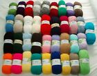 A) ROBIN DOUBLE KNIT (DK) 100 GRAM BALL OF WOOL/YARN - VARIETY OF COLOURS