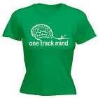 One Track Mind Rowing WOMENS T-SHIRT Kayak Watersports Top Funny birthday gift