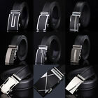 NEW Men Belts Waist Genuine Leather Automatic Buckle Belt Business Waistband Hot