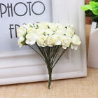 144PCS 1cm Head Artificial Paper Rose Flowers Bouquet Wedding Home Decorations