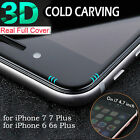3D Steel Glass Full Coverage Film Full Screen Protection For iPhone 7 / 7plus