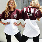 Cute Women Casual Long Sleeve T-Shirts Tops Blouse Sweatshirt Sweater Pullover