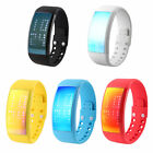 W4E Intelligent 3D Pedometer LED Watch Calorie Function Silicone Bracelet LO