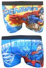 Superman Superhero Mens Boxer Shorts Zwei Pack