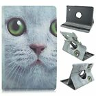 """360 Rotatable Animals Stand PU Leather Case For Samsung Galaxy Tab E 9.6"""" T560"""