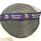 "7/8"" Minnesota Vikings Border Grosgrain Ribbon by the Yard (USA SELLER!) $2.95 USD on eBay"