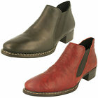 Ladies Rieker Ankle Boots - 53680