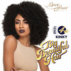 Outre Synthetic Big Beautiful Hair Lace Front Wig - 4A KINKY