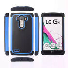 Hybrid ShockProof Silicone Rubber Hard Case Cover For LG G3 Nexus 5X G4 G5 +Film