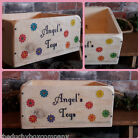 Dog Puppy Toy Box Wooden Gift Crate Hand Made Cornish Free Personalisation