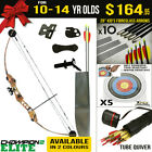 Kids Gift Pack - 10-14 Yr Old Champion II Elite Compound Bow Kids Target Archery