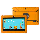 Silicone Rubber Skin Case Cover for 7'' Dragon Touch Y88x Tablet Orange for Kids
