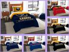NHL Licensed 2 Piece Twin Comforter & Sham Bed Set In A Bag - Choose Your Team