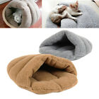 Soft Fleece Slipper Design Pet Dog Cat Sleeping Bag Bed Nest Warm House USA ZY