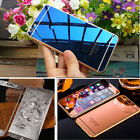 Mirror Effect Colour Tempered Glass Screen Protector Film For iPhone 5 6 6S Plus