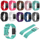 Sport Silicone Replacement Buckle Wrist Band for Fitbit Charge 2 Bracelet Dulcet