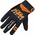KTM MECHANIC TECHNICIAN GLOVES BLACK/ORANGE S, M, XL, 2XL
