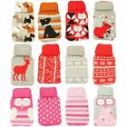 Re-Usable Knitted Cover Gel Hand Warmer Cute Winter Gift