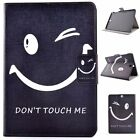 New PU Leather Case Cover Stand For Samsung Ipad 2/3/4 air1/2 Kindle Fire Tablet