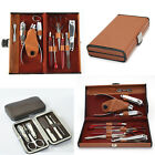 RC Collection Deluxe 10 Piece Manicure Set with Carrying Case