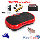 1000W Vibration Plate Platform Exercise Body Fitness Machine Whole Body Shape