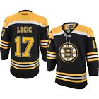 Milan Lucic Boston Bruins Reebok Premier Hockey Jersey YOUTH BOYS L XL