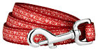 Country Brook Design® XOXO Ribbon Double Sided Dog Leash