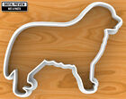 Bernese Mountain Dog Cookie Cutter, Selectable sizes