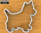 Yorkshire Terrier Dog Cookie Cutter, Selectable sizes