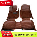 Y2R3 Auto Interior Floor Decor Mat Carpet Four Seasons Fits BMW X5 2014-2016 Yes