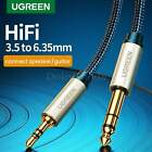Ugreen 1/8 To 1/4 inch Stereo Plug Cable Male 3.5mm 6.35mm Jack Audio Cord