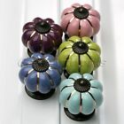 Stylish Creative Pumpkins Drawer Knobs Kitchen Cabinet Door Ceramic Pull Handles