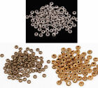 Wholesale 100Pcs Tibetan Silver Wheel Gear Spacer Beads Findings 6mm