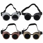HOT Cyber Goggles Steampunk Glasses Vintage Retro Welding Punk Gothic Victorian#