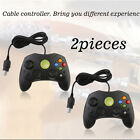 2 LOT NEW RED Controller Control Pad for Original Microsoft XBOX X BOX System TN