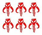 "6 Mandalorian Vinyl Decals Star Wars Mythosaur Bantha Skull 2"" Stickers $4.99 USD on eBay"