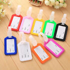 Travel Luggage Bag Tag Name Address ID Label Plastic Suitcase Baggage Tags New