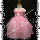 SPPK7 Baby Girls Christening Baptism Wedding Pageant Formal Birthday Party Dress