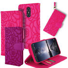 For ZTE Z MAX PRO ZMAX Pro Carry Z981 Textured PU Leather Wallet Cover Case
