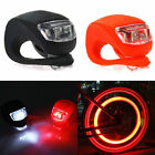 Waterproof Silicone Bike Front Rear Wheel LED  Flash Light For Bicycle Cycling