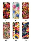 Colorful Candy Happy Transparent Phone Case for iPhone Range
