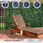 6'FT H  Artificial Faux Ivy Leaf Privacy Fence Screen Décor Panels Outdoor Hedge