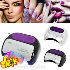 48W Pro CCFL&LED Nail Cure Lamp UV Gel Dryer Light Timer for Gel Polish UK